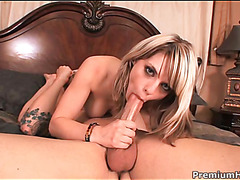 Chick plays with sextoy
