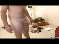 Three luxurious chicks worship powerful meaty dick by licking it