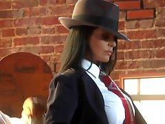 The Hottest Latina Mafia Boss Ever Mikayla Mendez Fucks Her Tailorman