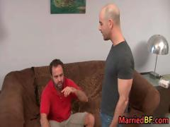 Married straight guy gets anus fingered part4