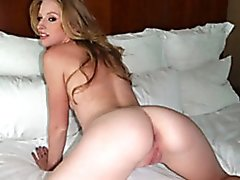 Avril is the pefect golden-haired bombshell girlfriend that can't get enough of her ex-boyfriend. Watch her engulf and fuck him in her hotel room