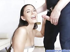 Amateur Chick Gets Taut Wet Crack Fucked
