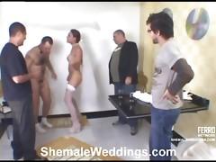 Laiza cute shemale bride