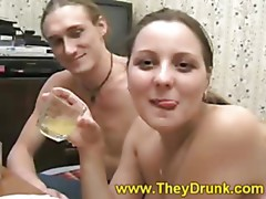 Drunk chick fucked